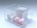 家居装饰酒店用品 多功能棉签盒/储藏盒 XI9018