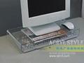 高档哑克力水晶笔记本电脑桌/架 XI8023