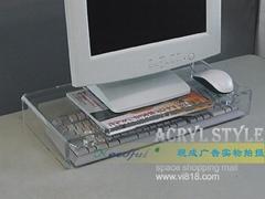 高檔啞克力水晶筆記本電腦桌/架 XI8023