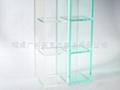 3格橫/豎兩用 透明儲物架儲存框 樣品展示架 XI6100