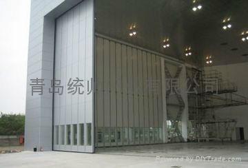 山東青島電動平移大門 3