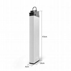 48v 10Ah li-ion foldable bicycle battery 48v Folding ebike  battery