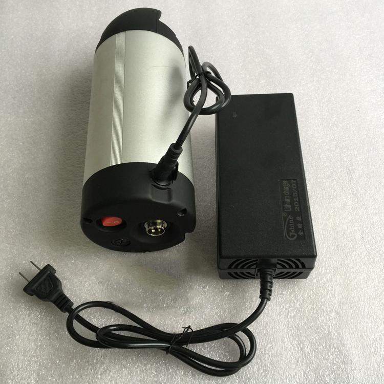 48v li-ion battery pack 48v 8ah ebike battery pack water bottle type  2