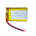 103450 li ion prismatic battery 103450
