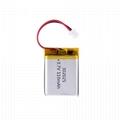 302025 lithium polymer battery 37v