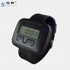 酒店手錶式無線呼叫器