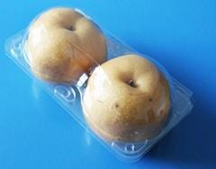 clamshells bilster plastic fruit packaging tray for apple 4/6 pcs