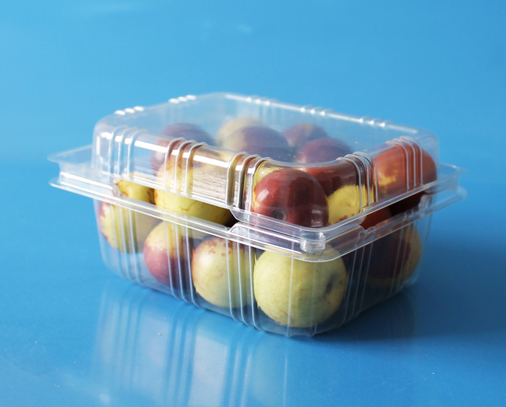 manufactory plastic fruit packaging container 250 gram strawberry packaging box  4