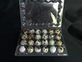 plastic quail egg tray quail egg packing container 30 slots holes packs 3