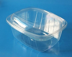 plastic fruit packaging container for grape1000gram