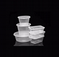 PP disposable food container fast food container take away food container 4