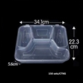 disposable plastic food container fast food container 5