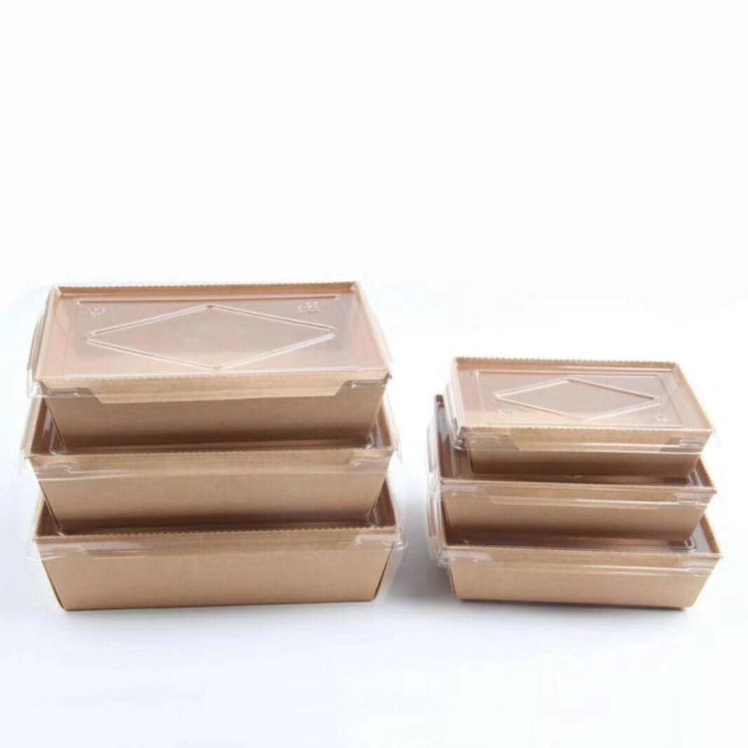 kraft packaging box take away box lunch box noodle packging box paper box  5