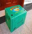 Plastic corrugated fruit packaging box  5
