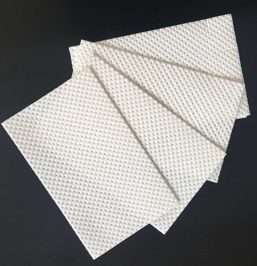 Absorbent paper pad for fruit food packaging container 4