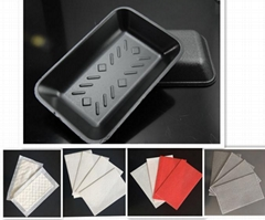PP EPS Food tray food packaging tray food packaging box for meat FDA approved