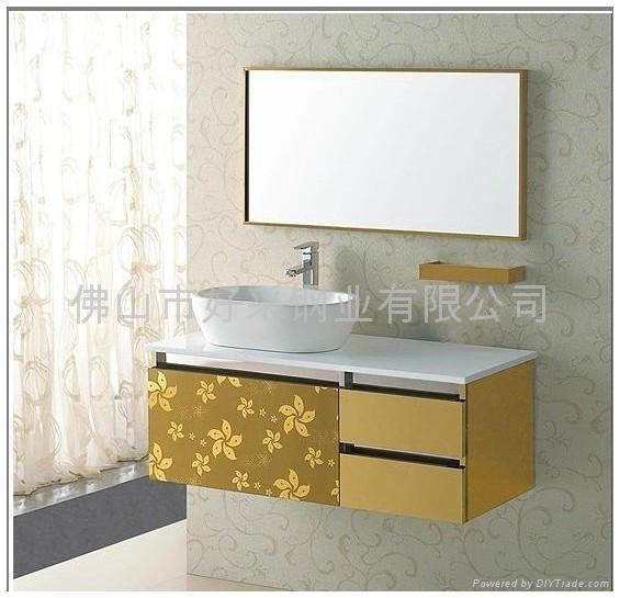 不锈钢浴柜花板材料 5
