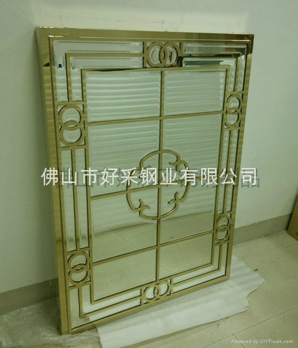 高档钛金装饰不锈钢制品 1
