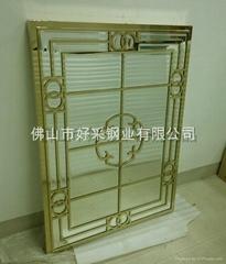 高檔鈦金裝飾不鏽鋼制品