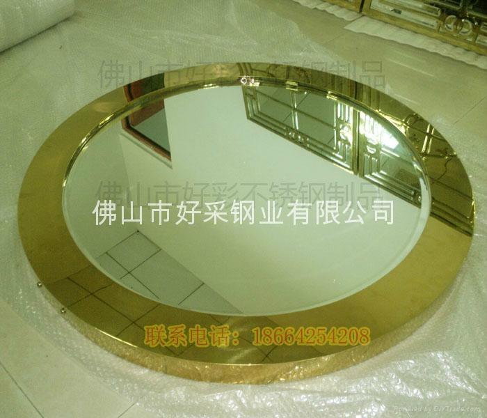 高档钛金装饰不锈钢制品 2
