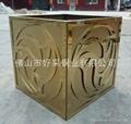 高档钛金装饰不锈钢制品 4