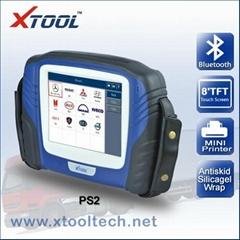 PS2多种卡车电脑诊断仪带蓝牙无线触摸屏