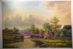 classical landscape oil painting