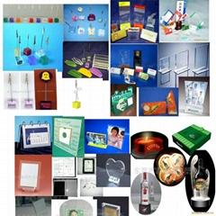 有机玻璃(亚加力)及水晶胶制品
