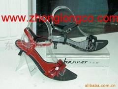 有機玻璃鞋撐