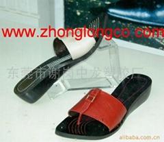 有机玻璃鞋广告架