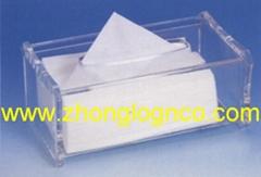 有機玻璃紙巾盒