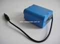 3S 11.1V Li ion 18650 Battery Pack 3S3P 7800mAh
