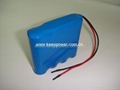 4S 14.8V Li ion 18650 Battery Pack 4S1P 2900mAh