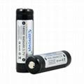 KeepPower 14500 protected 14500 840mah li-ion battery Sanyo UR14500P