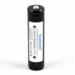 KeepPower 17670鋰離子電池 3.7V 1500mAh帶保護板