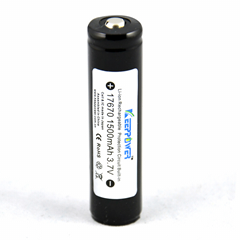 KeepPower 17670锂离子电池 3.7V 1500mAh带保护板