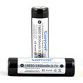 18650 3400mah - KeepPower protected 18650 3.7V 3400mah battery