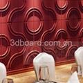 MDF 3D wave panel wall decor, beach 2