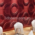 MDF 3D wave panel wall decor, beach