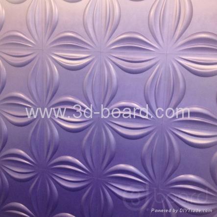 MDF 3D wave panel wall decor, beach 5