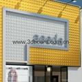 building material for façade cladding