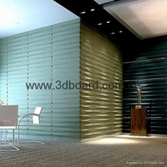 3D wall art decor wave panel