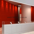 3D wall wave panels 3