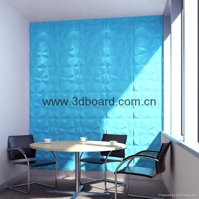 3D wall wave panels 5