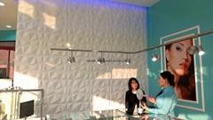 酷牆裝飾三遞板迪蒙得新型電視牆