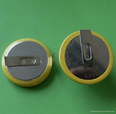 供应奇力丰LIR2032 3.6V锂离子电池