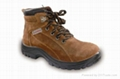 WORK LEATHER SAFETY SHOES 2