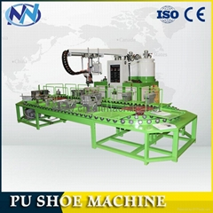 JG-801 pu shoe-making sole pouring machine