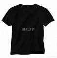 单层阻燃针织T恤 1