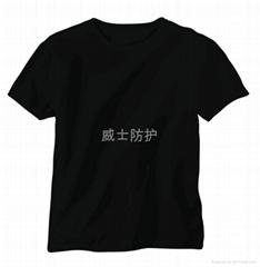 单层阻燃针织T恤
